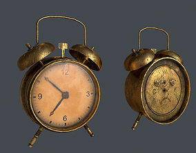 Old Clock 3D model low-poly