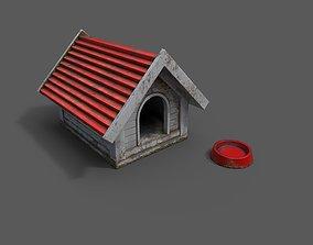 3D asset game-ready Dog house