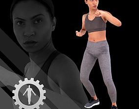 Female Scan - Calypso 120 3D asset