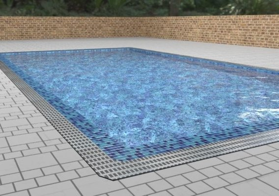 Swimming Pool Lowpoly Recommended (ON SALE ON PROFILE)