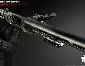 3D print model The E-11D blaster rifle