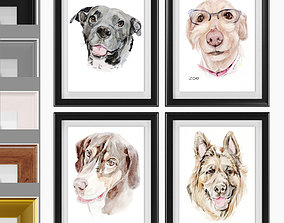 Art Frams 17- Happy Pet Art 3D