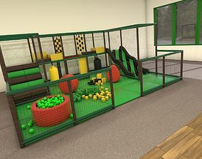 3D Small Indoor Play Frame