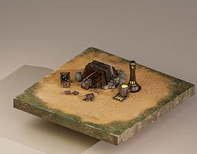 Iron Mine Level 5 3D model