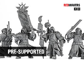 3D print model Janissaries - Command Squad of the Imperial