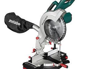 3D model Miter saw Metabo