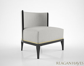Reagan Hayes Charles lounge armchair 3D