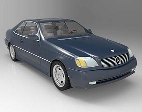 3D model Mercedes-Benz S600