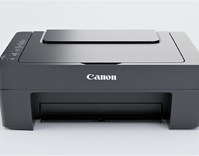 Canon Paper Printer - Solid Ink 3D model