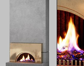 3D fire place vol01