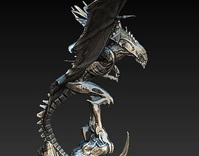 3D model Flying queen alien xenomorph
