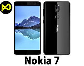 Nokia 7 Black 3D