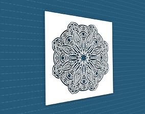 Mandala architectural meditation 3D