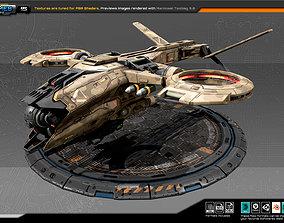 RTS Heavy Drone - 15 3D asset