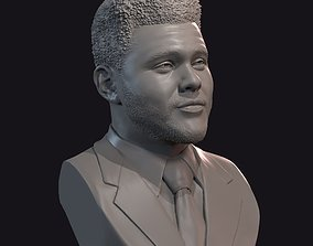 The Weeknd bust 1 3D printable model