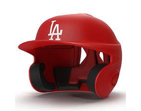 3D model Batting Helmet LA
