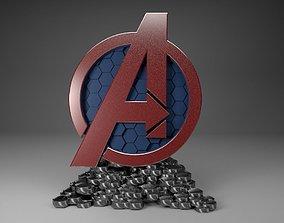 Avenger 3D Logo avengerprint3d