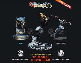 toys Thundercats Tygra STL for 3D printing Fanart