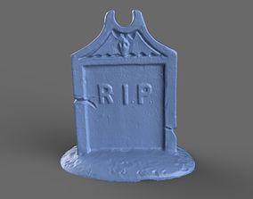 3D Tombstone Miniature 1