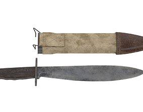 3D asset Bolo Knife