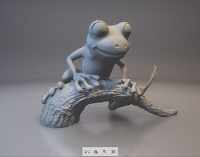 3D printable model Tree frog ecology