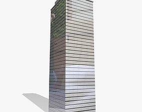 3D urban Metropolitan Skyscraper