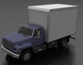 F-800 Box Truck 1980 3D asset