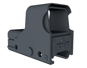 Aimpoint and Handle Adapter 3D print model