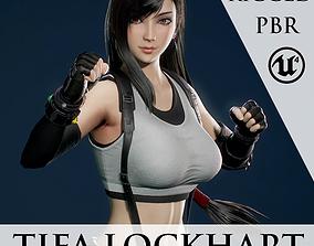 Tifa Lockhart - Game Ready 3D model