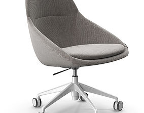 3d model of the Offecct Ezy Low chair