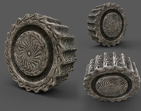 3D model Ancient stone - PBR - lowpoly