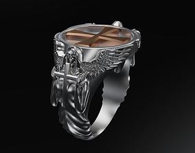 Angel ring 3D print model