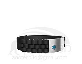 Medical Bracelet Design 3D print model