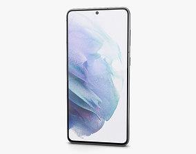 3D Samsung Galaxy S21 plus 5G Phantom Silver