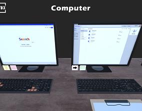 3D asset Computer Set