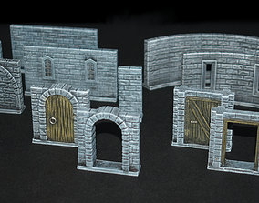 3D printable model Modular Castlewall Collection for 1