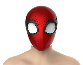 Spectacular Spider-man faceshell 3D print model