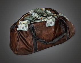 Cash Money Bag BHE - PBR Game Ready 3D model