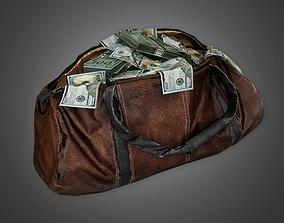 Cash Money Bag BHE - PBR Game Ready 3D asset