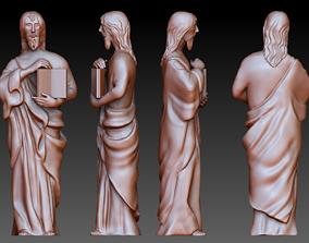 Statue 7 of saint Notre Dame 3D print model