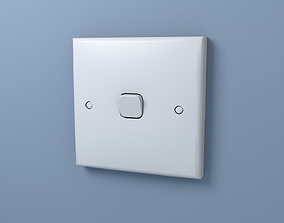 Light Switch 3D model realtime