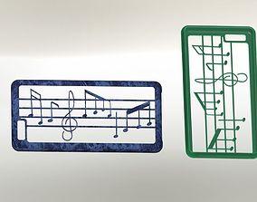 3D printable model iphone 6 plus case-music
