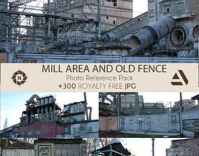 Photo Reference Pack Mill AREA and FENCE NEAR BY 3D model