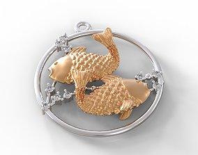 Pisces stars 3D print model