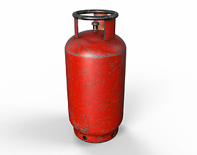 tool 3D model Gas canister