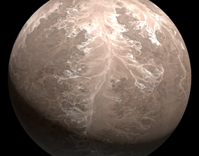 3D Planet Quom