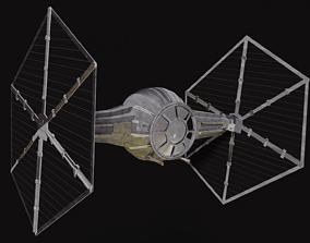 Star Wars Tie Fighter space-craft 3D