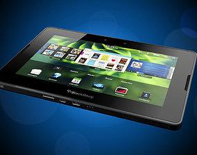 3D model Blackberry Playbook - Mini tablet - Pad