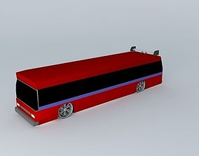 Sweet Party Bus 3D model