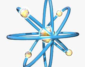 Blue Atom Model